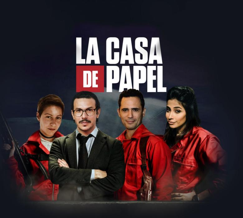الجمهور يختار نجوم La Casa De Papel العرب Et بالعربي